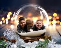Twinkle Snow Globe