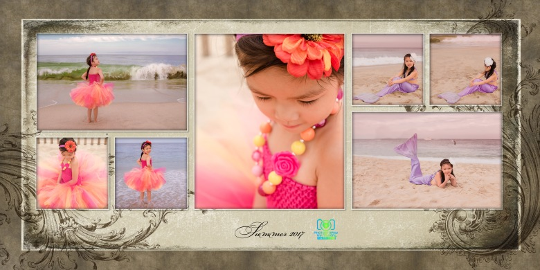 Summer 2017 Beach Tutu Mermaid