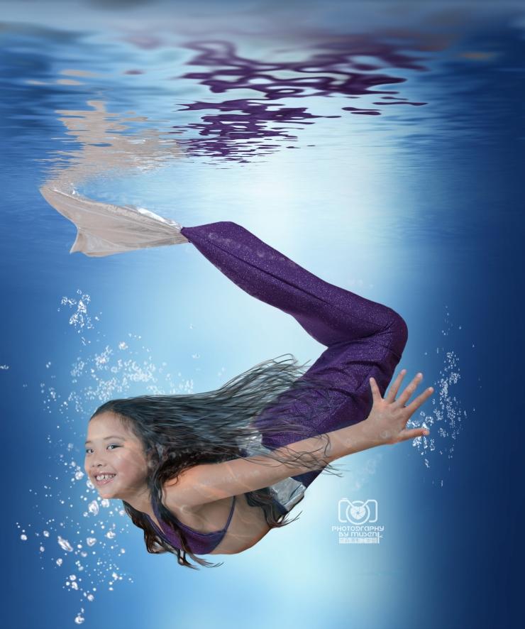 Mermaid Underwater Composite