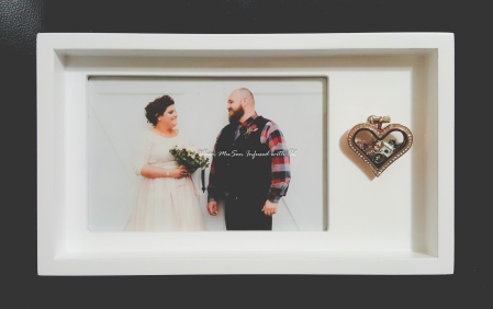 Wedding Living Locket Frame