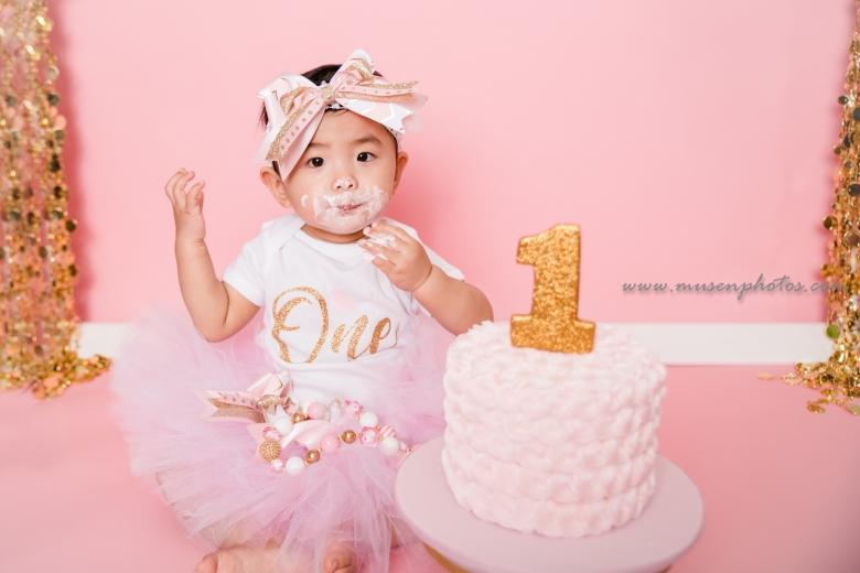 Princess Cake Smash (10)
